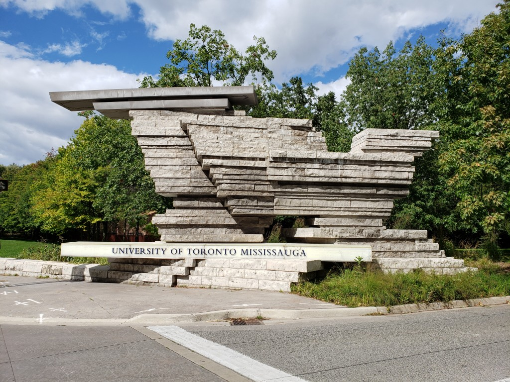 university of Toronto Mississauga Campus entrance
