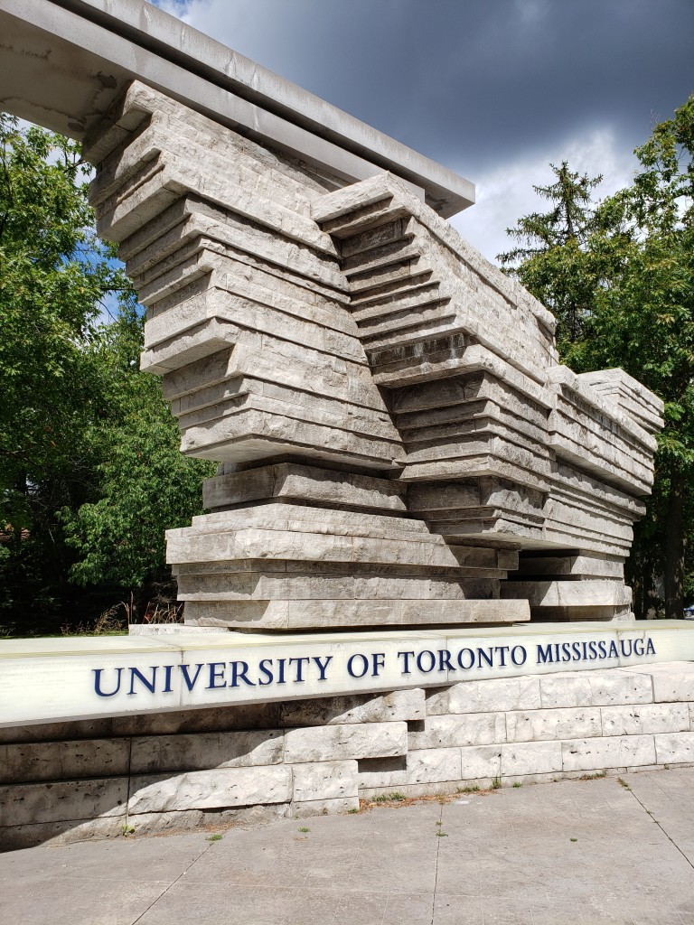 University of Toronto Mississauga Campus Inuksuk Statue