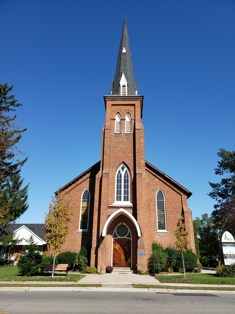 History of Streetsville St. Andrew's church