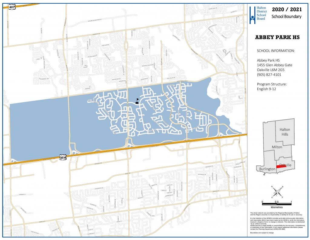 abbey park high school boundary map