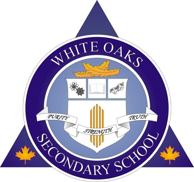 white oaks secondary school logo