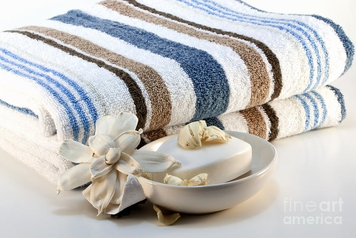 stage your home fresh towels