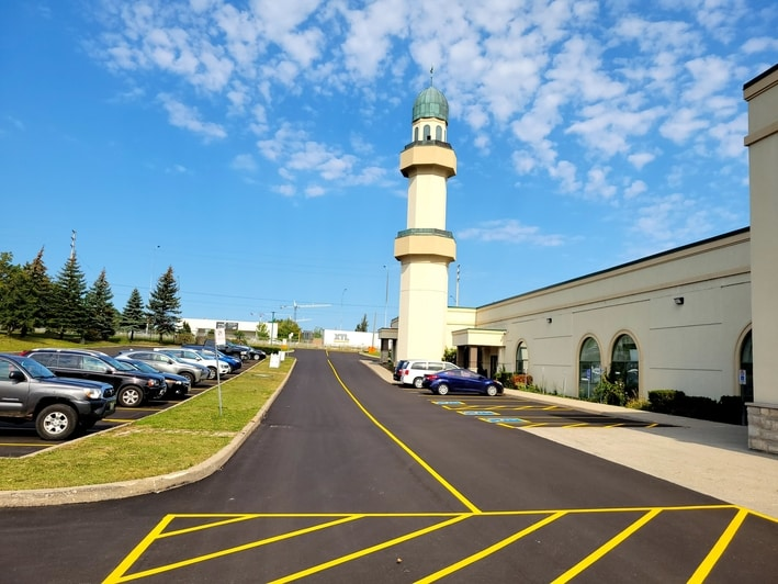 ISNA high school and mosque Mississauga Canada